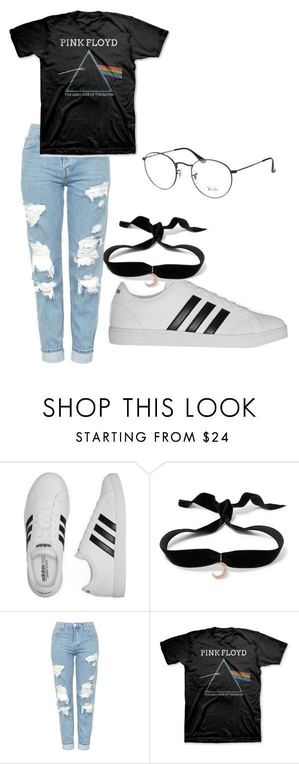 """Untitled #46"" by stevensonna ❤ liked on Polyvore featuring adidas, Aamaya by Priyanka, Topshop, JEM and Ray-Ban"