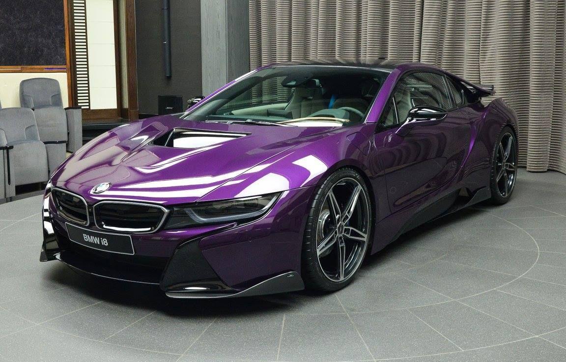 Gallery 1 Of 1 Twilight Purple Bmw I8 In Abu Dhabi Gtspirit