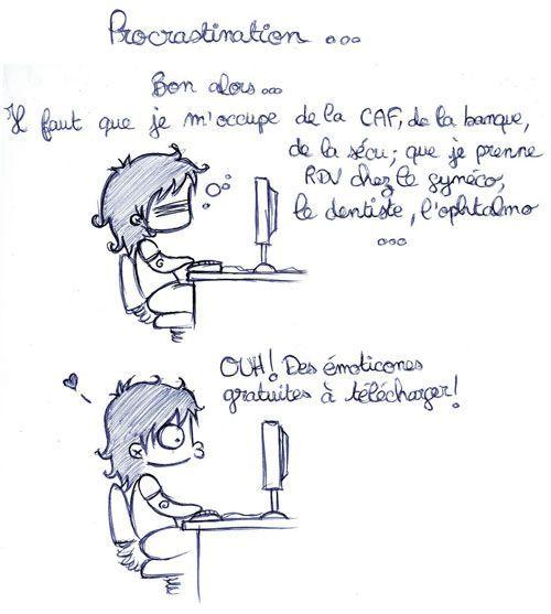 Procrastination www.tdah.be