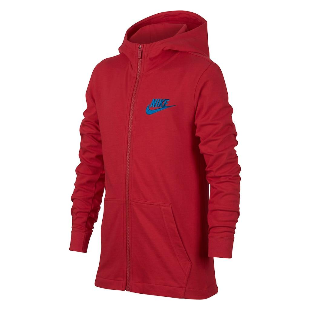 7615f72f70eb Boys 8-20 Nike Jersey Full-Zip Hoodie