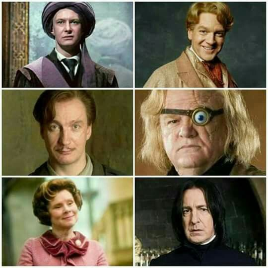 The Defense Against The Dark Arts Teachers Harry Potter Harry