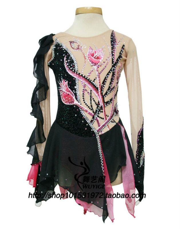 patinage artistique professionnel personnalis costume costume costume de gymnastique l 39 art. Black Bedroom Furniture Sets. Home Design Ideas