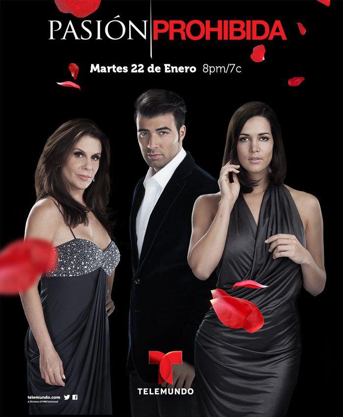 Pasión Prohibida Usa 2013 Jencarlos Canela Mónica Spear Telemundo Spanish Actress Latino Actors