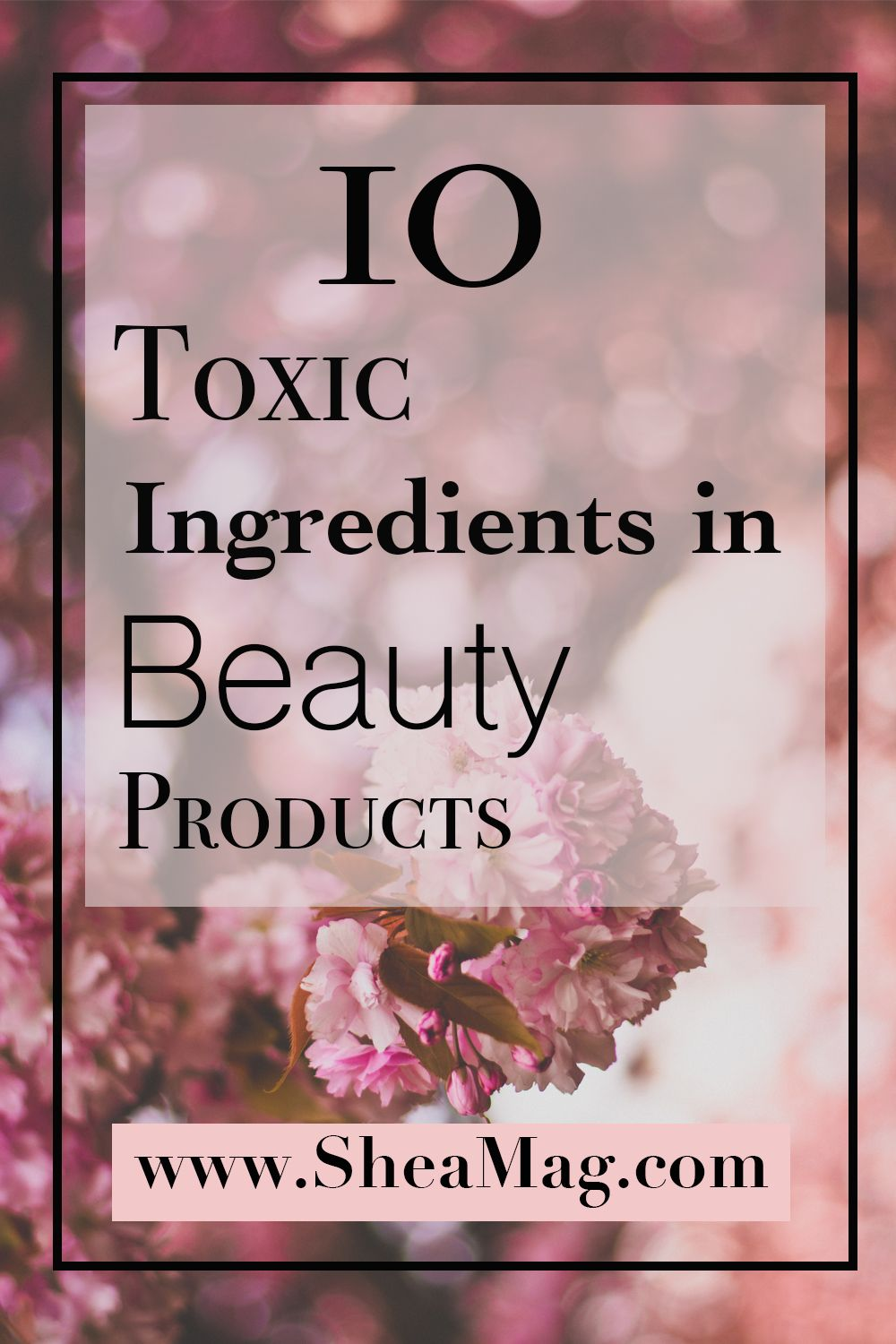 10 Toxic Ingredients to Avoid in Cosmetics in 2020 In