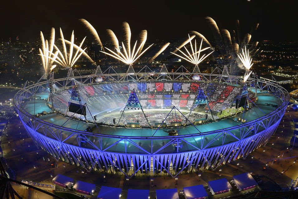 The 2012 Olympics #London  If I'd be there, I'd actually watch...won't be doing either one.