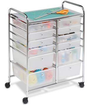 Best Art And Craft Storage Carts On Wheels