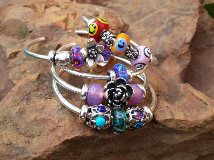 Bangle Love Great Trollbeads Inspirations From A Gallery Forum Member Http