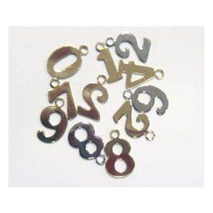 Photo of 数字チャームSサイズ(ナンバーチャーム) ゴールド :X44400-10GO:首輪とキーホルダーのパーツのお店 – 通販 – Yahoo!ショッピング