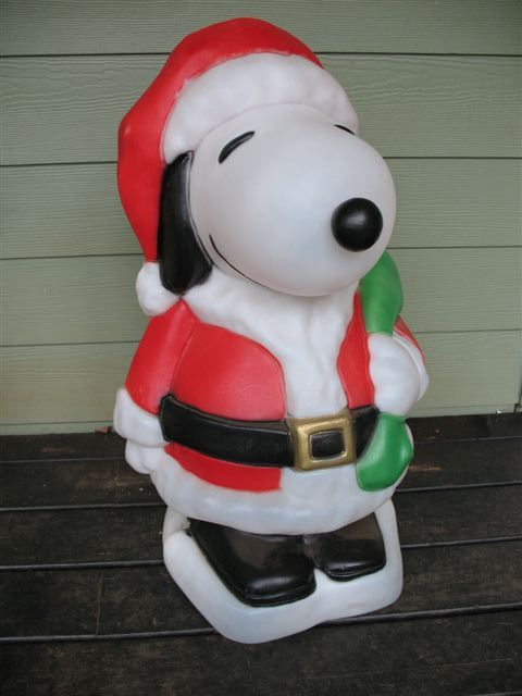 Blow Mold Christmas Yard Decorations.Santa S Best Blow Molds R Us Vintage Lawn Ornaments