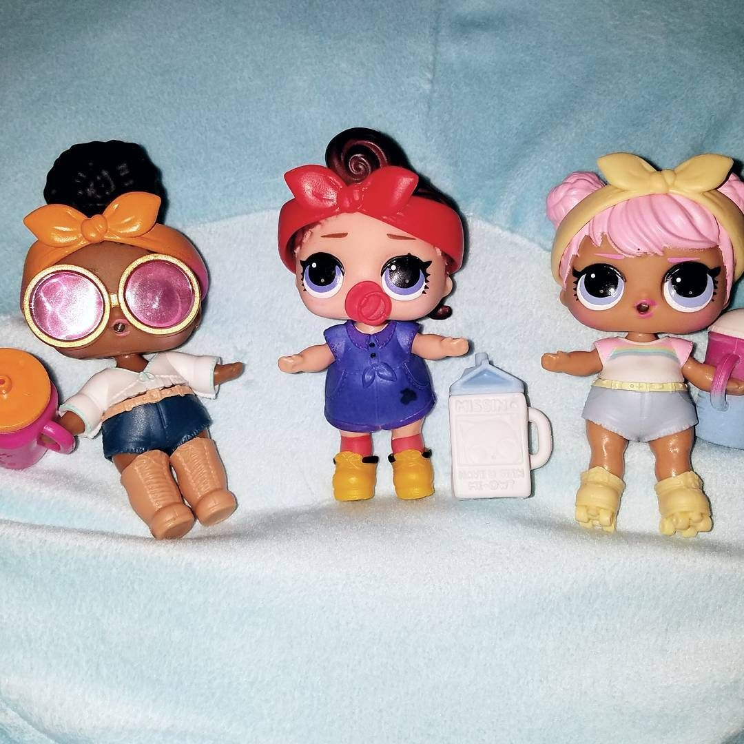 ULTRA RARE LOL Surprise Confetti Pop Foxy Series 3 Wave 1 DOLL TOY Child GIFT