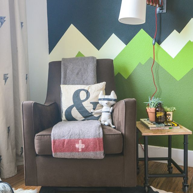 Green Kids Room: The Ron Swanson Nursery