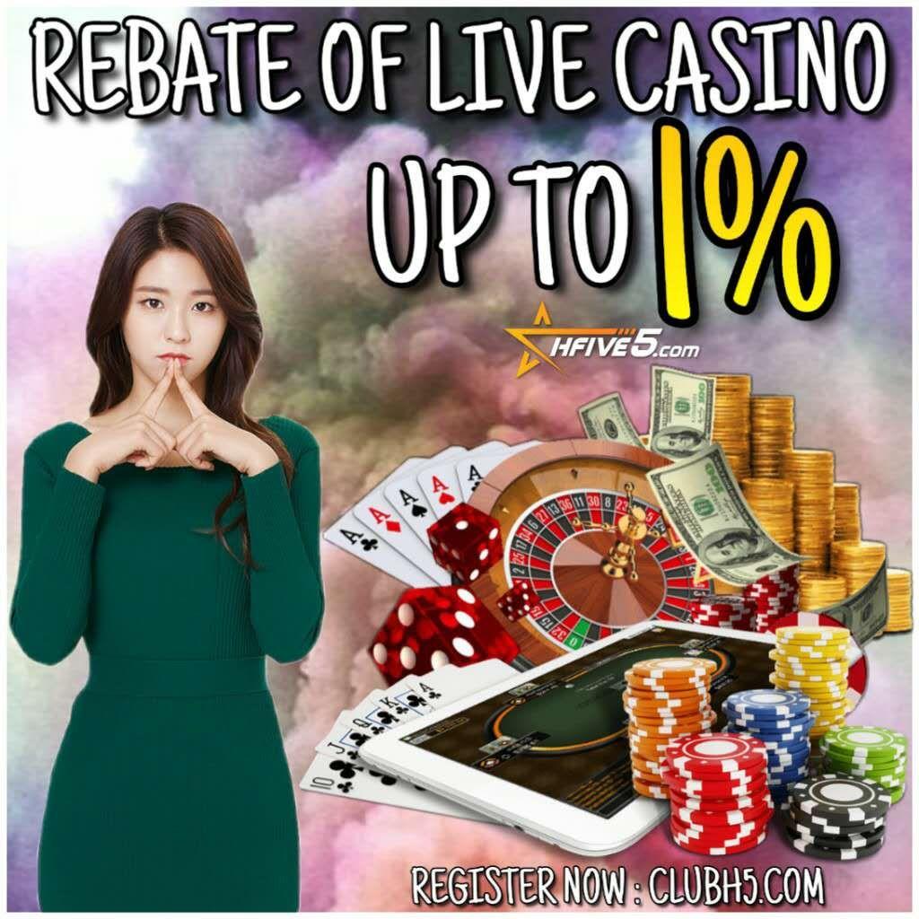 Daily Rebate Live Casino Up To 1 In 2020 Live Casino Casino Rebates