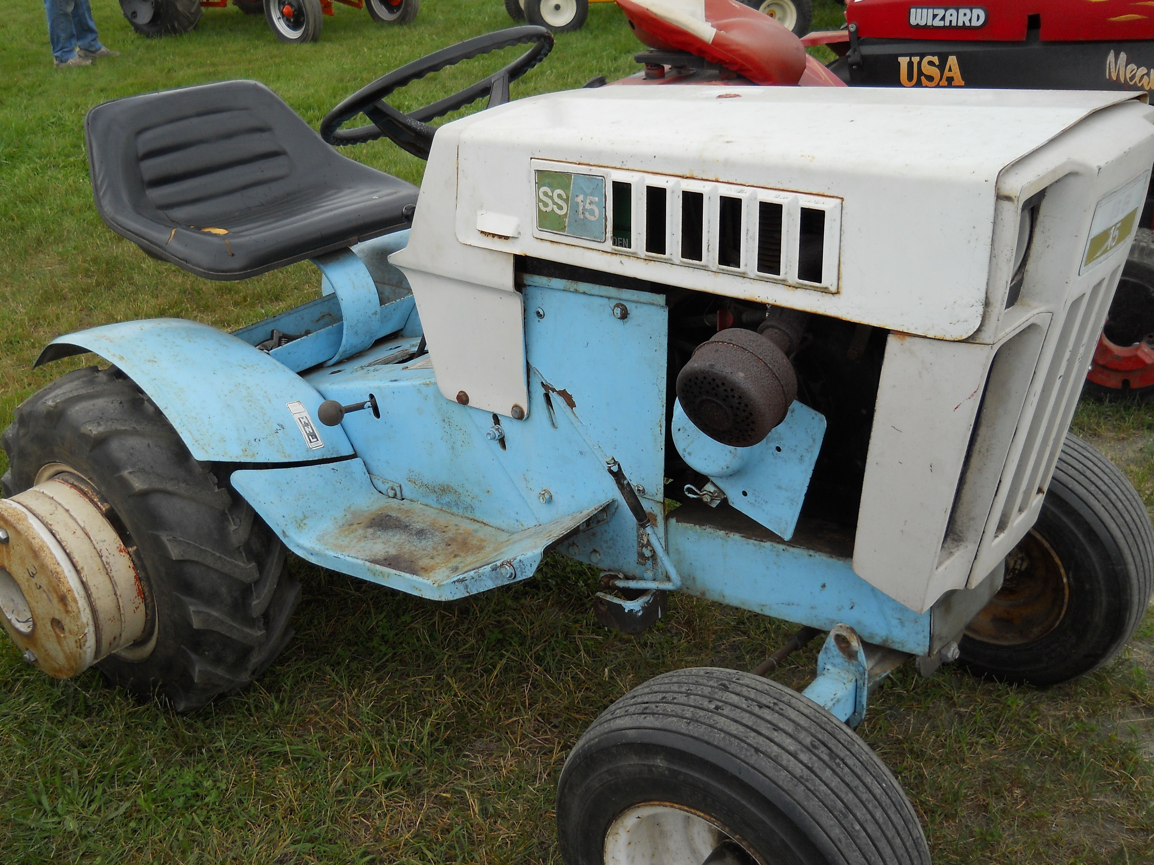 Little Roper Ss15 Tractor A Sear Brand S      Youtube Com  User  Viewwithme
