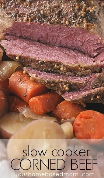 Slow Cooker Corned Beef Recipe Slow Cooker Corned Beef Slow Cooker Beef Corned Beef Recipes