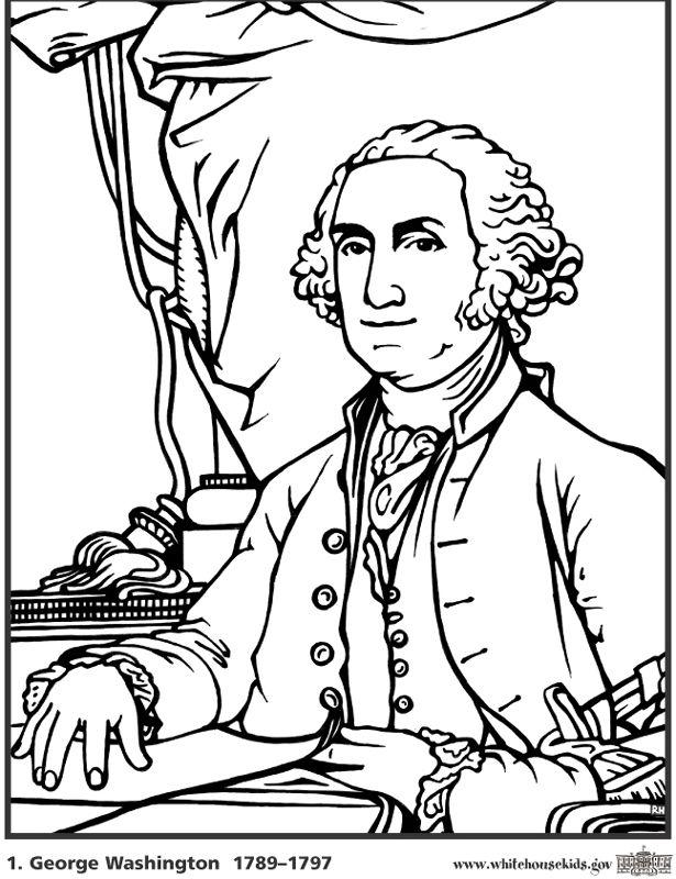 Coloring George Pages Washington 2020 Check More At Https Bo