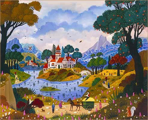 Biographie du peintre alain thomas naive art pinterest for Biographie artiste peintre