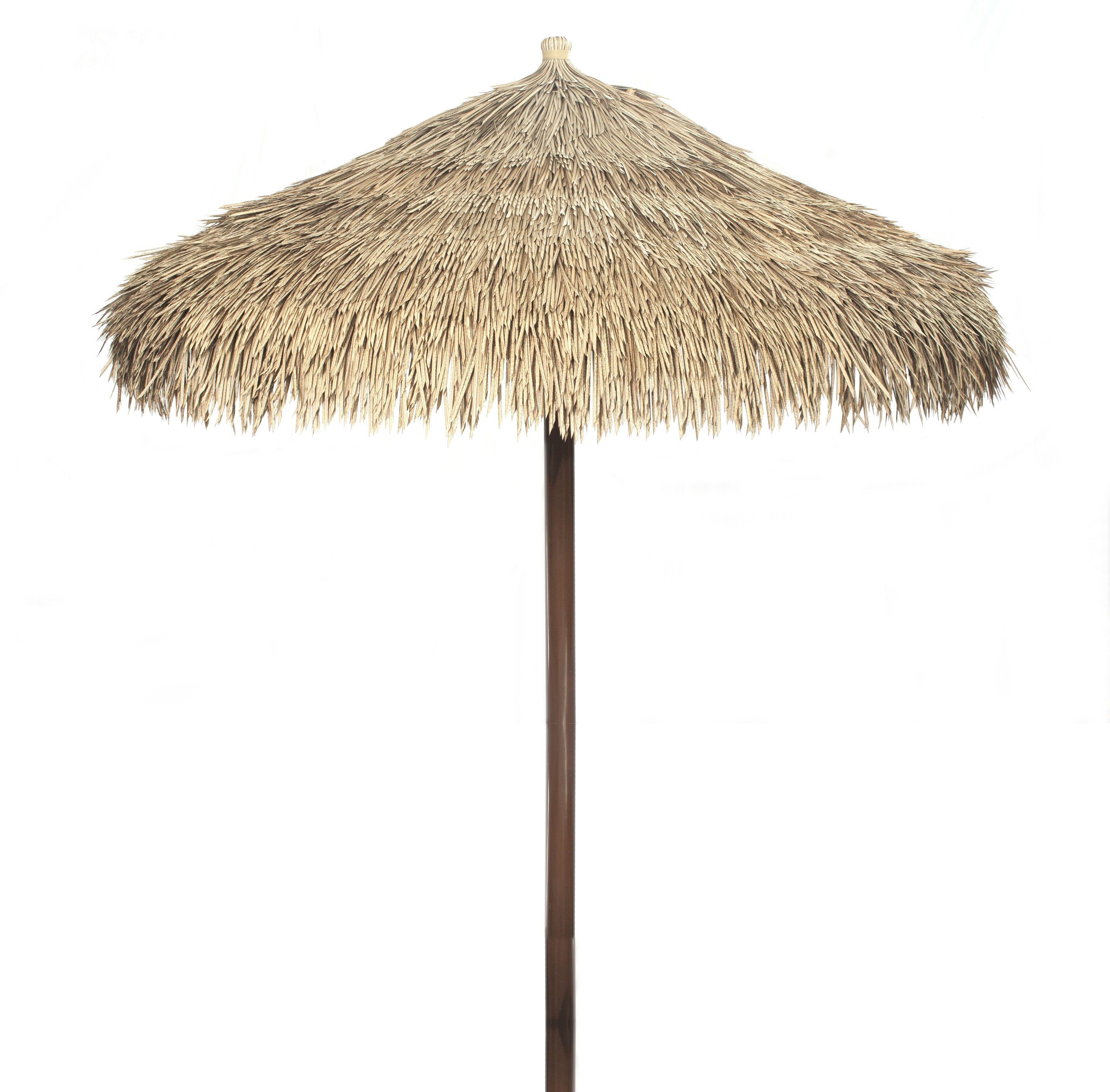 Complete Umbrella Made From Artificial Thatch Viro Java Palm Backyard X Scapes Umbrella Thatch Tiki Umbrella