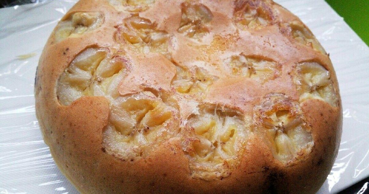 バナナホットケーキミックス 炊飯器