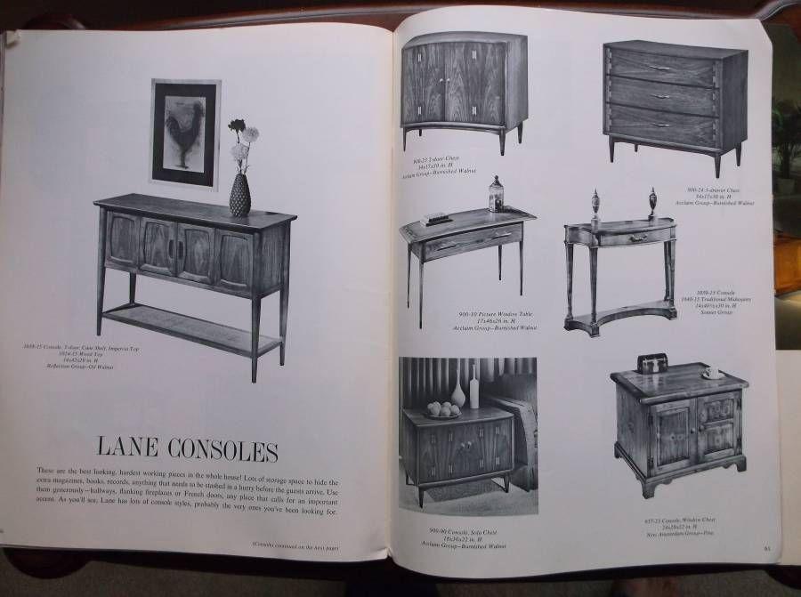Vintage Lane Furniture Table Portfolio Catalog Fall 1964 | eBay - Vintage Lane Furniture Table Portfolio Catalog Fall 1964 EBay