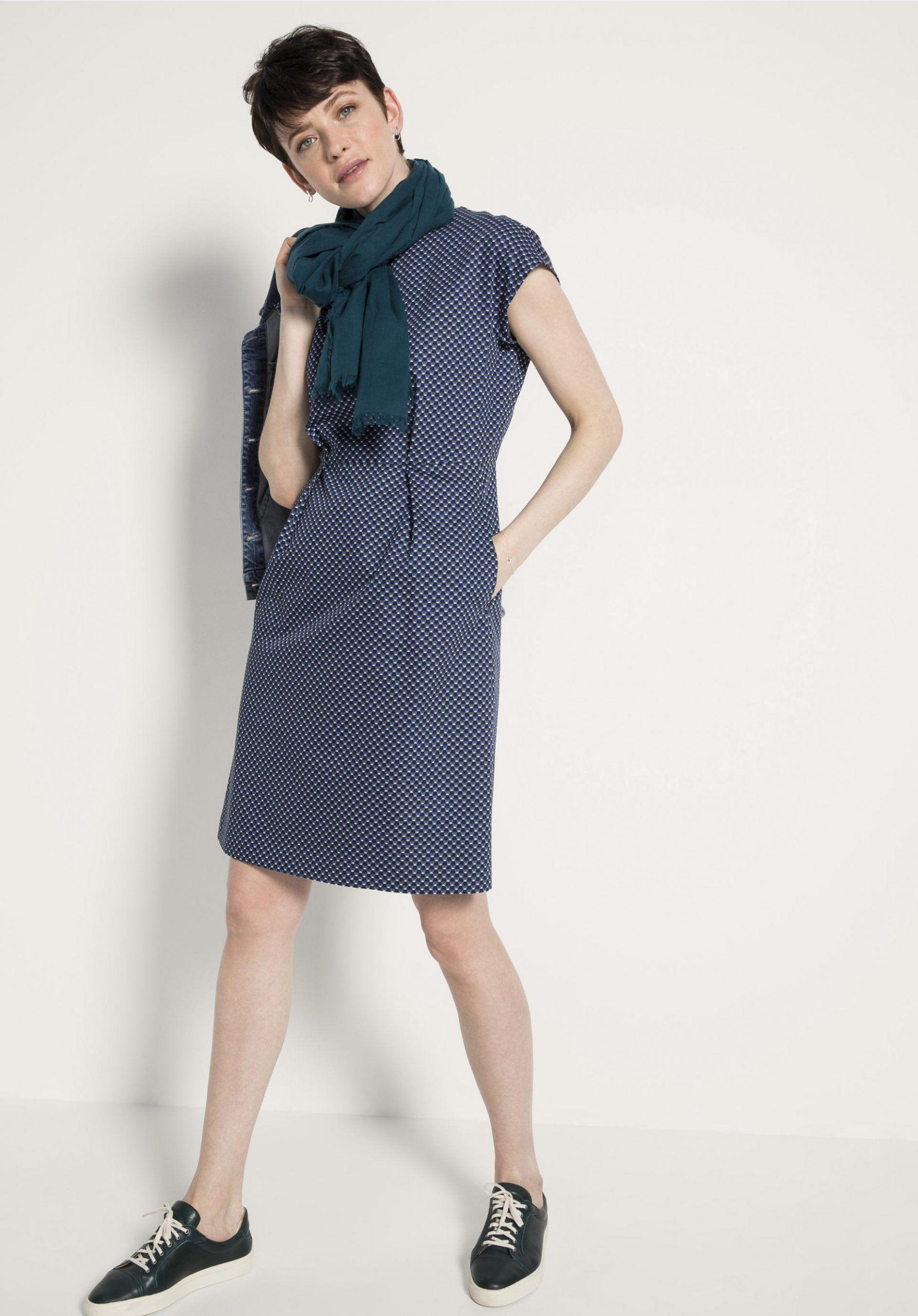 11 kleid kniebedeckt | kleid arbeit, kleider, modestil
