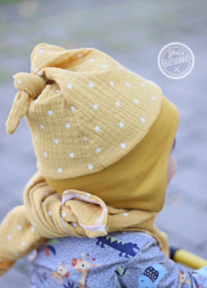Mützenzipfel - Kopfumfang 35cm bis 55cm #bonnets