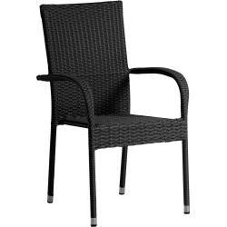 Photo of Gartenmöbel-Set Las Vegas Xxl/malaga/riogrande (90×200, ausziehbar, 8 Stühle, schwarz) Dänisches Bet