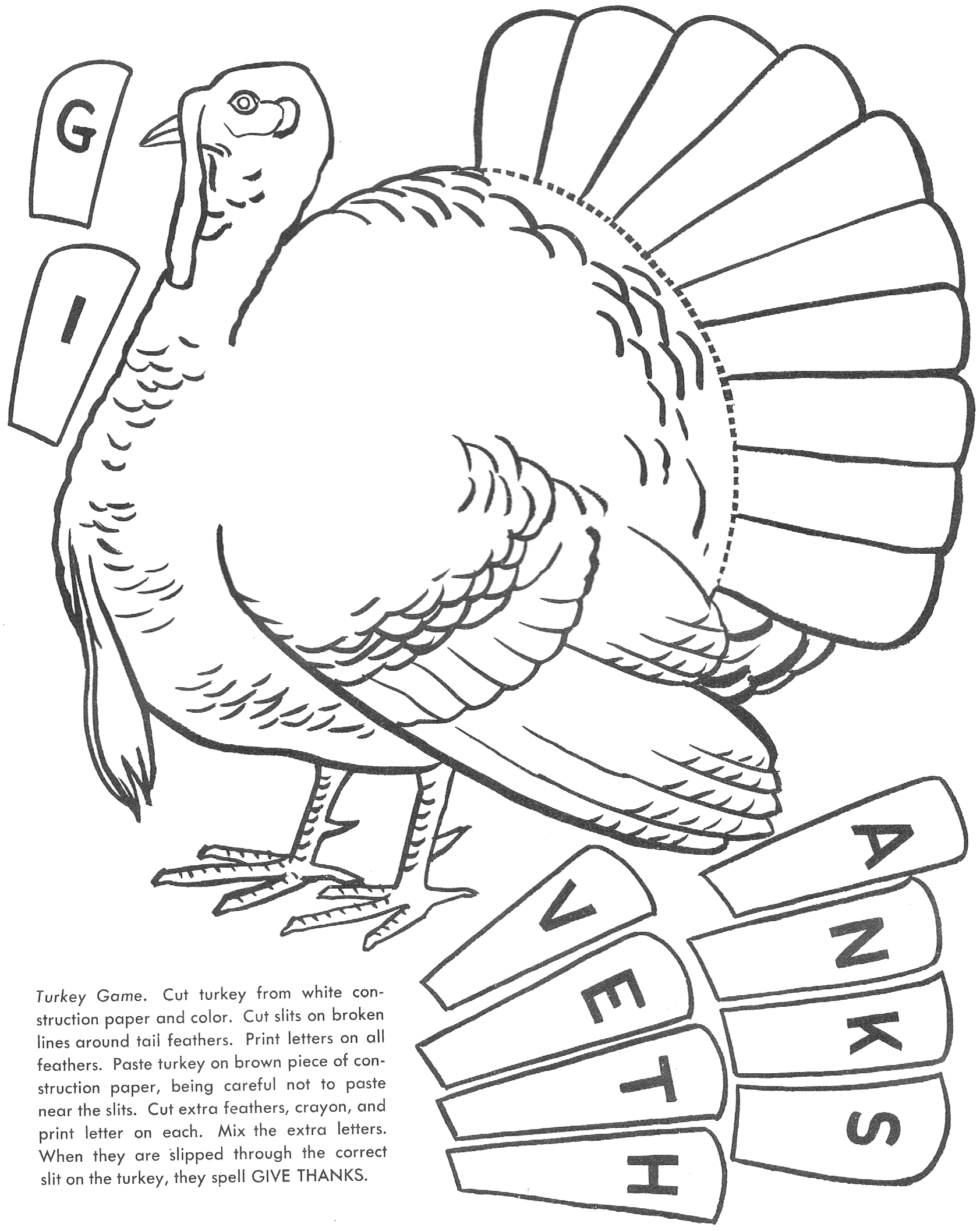 Free Coloring Turkey Print Out | Leave a Reply Cancel reply ...
