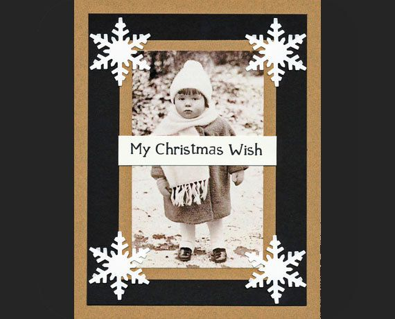Old Fashioned Christmas---\u003e Make your own Christmas cards this year