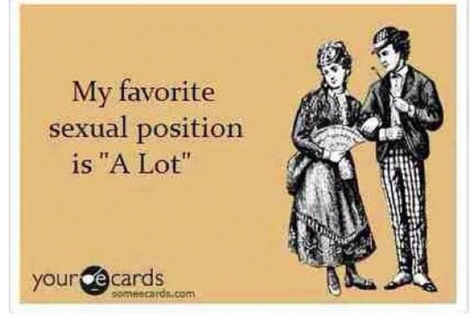 Sexual positions ecards