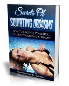 Squirting meaning