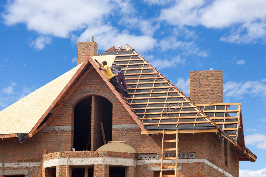 Choose Certified Roofing Gutters For New Roof Installation Atlanta Roof Design House Under Construction Roof Installation
