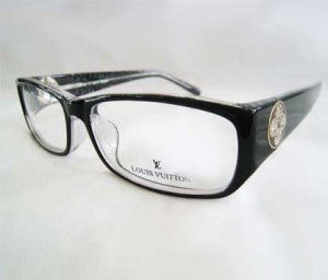 0bc4cbc48a Wholesale cheap Z0135E Louis Vuitton Eyeglasses In Black