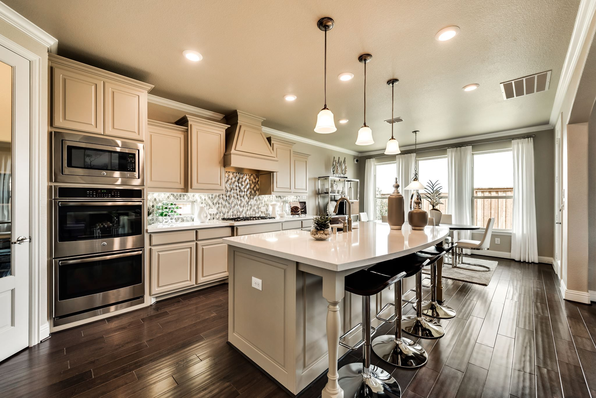 Good Morning Would You Love To Be Cooking In This Kitchen Kitchen Remodel Unfinished Kitchen Cabinets Kitchen On A Budget