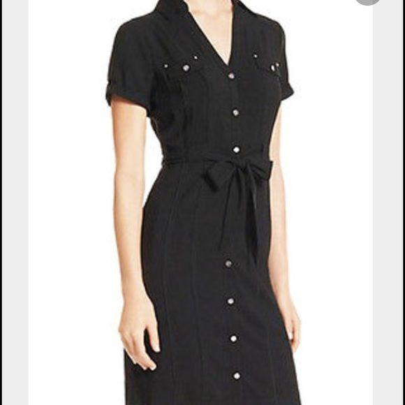 "Selling this ""White House Black Market Button Dress"" in my Poshmark closet! My username is: fulce01. #shopmycloset #poshmark #fashion #shopping #style #forsale #White House Black Market #Dresses"