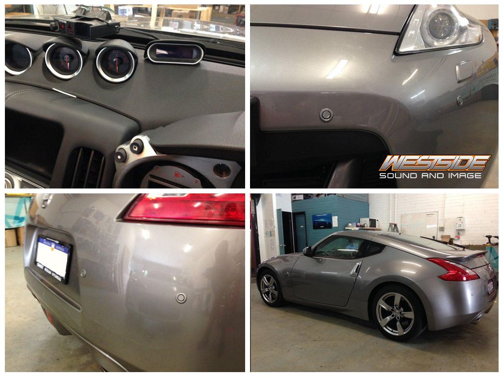 This Nissan 370z Was Fitted With Radar Detector Parking Sensors
