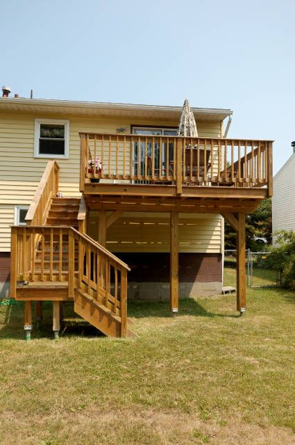 Decks Raised Ranch Google Search Deck Pinterest Decking And