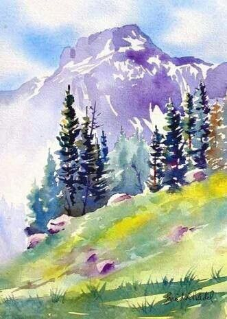 Pin By Nicolette Grindstaff On Watercolor With Images Art Painting