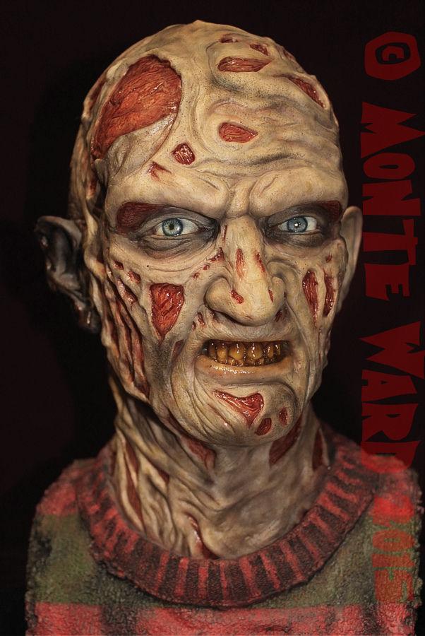 1 1 Resin Freddy Krueger Bust Model Kit Sideshow Anoes Rare Horror Monster Slash Ebay Freddy Krueger Freddy Krueger Makeup Horror Monsters