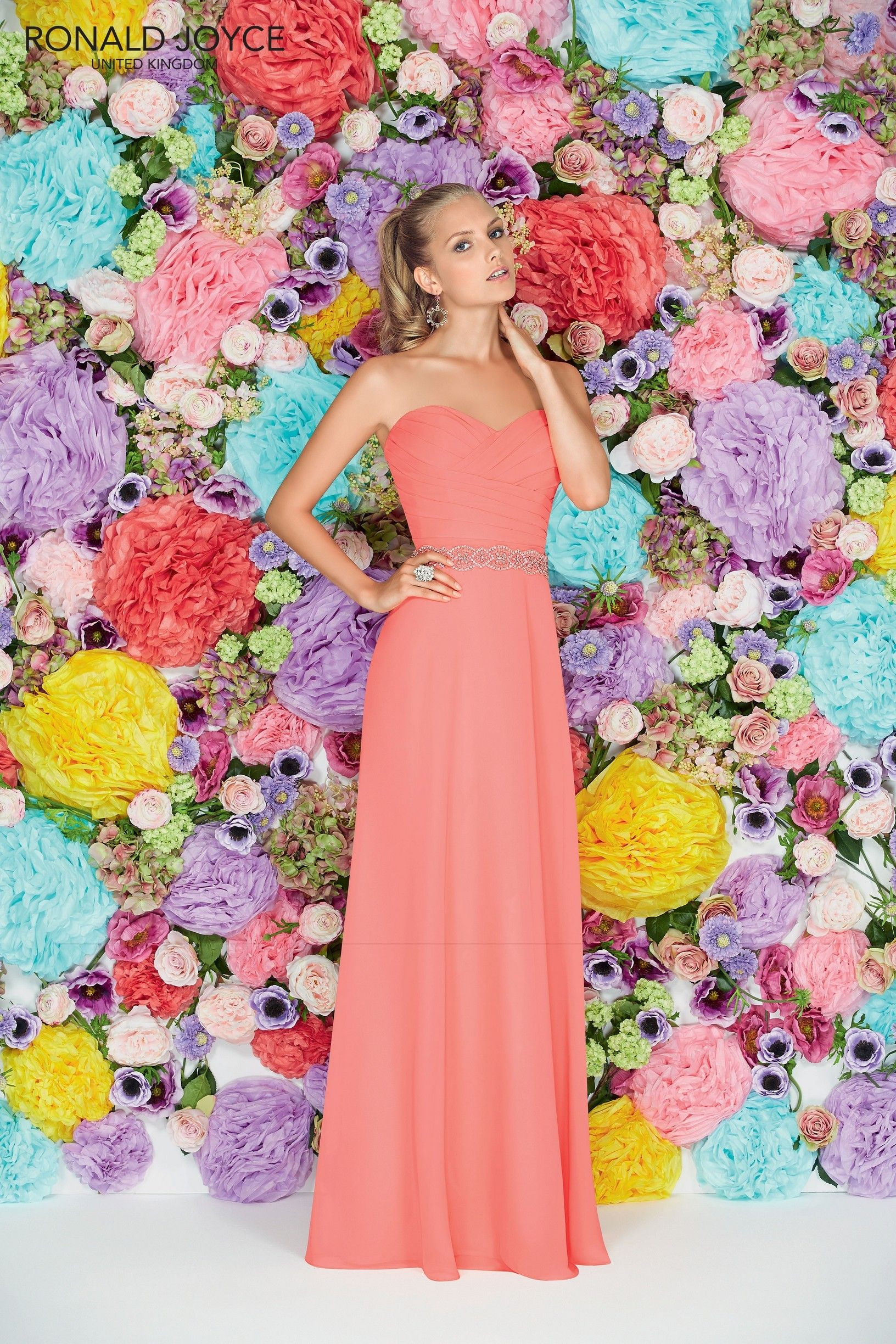 Gorgeous bridesmaid dress in a lovely summer colour 29101 ronald gorgeous bridesmaid dress in a lovely summer colour 29101 ronald joyce international wedding ombrellifo Choice Image