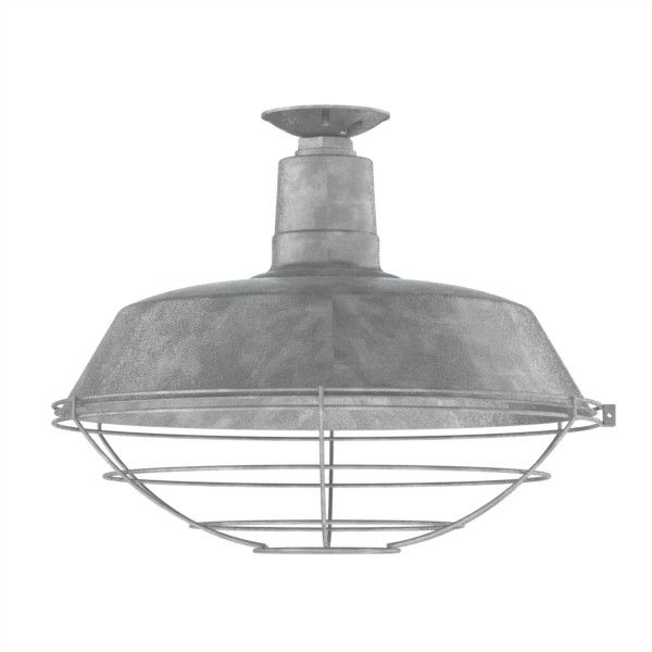 Commercial Lighting Company Tampa Fl: The Original Warehouse Flush Mount Pendant