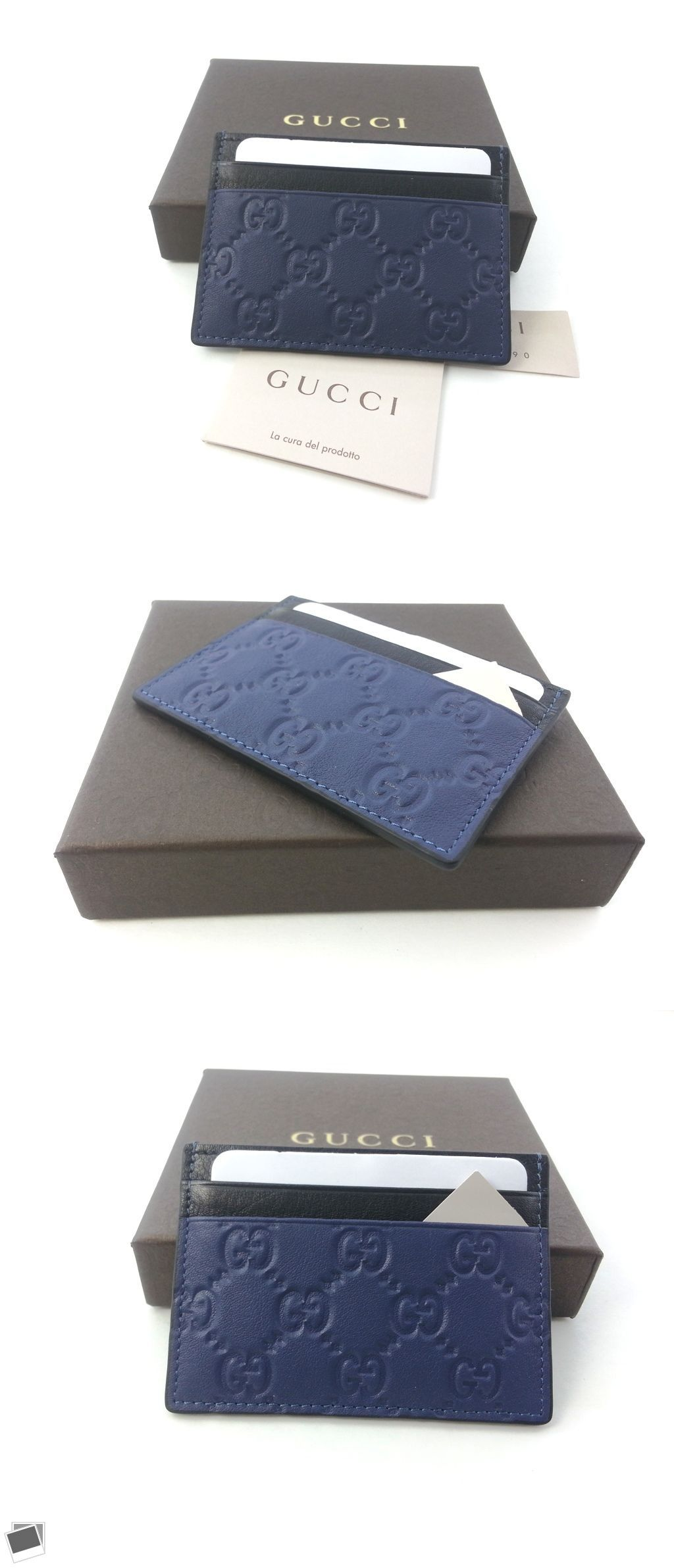 Business and credit card cases 105860 authentic gucci guccissima business and credit card cases 105860 authentic gucci guccissima dark blue black leather card case colourmoves