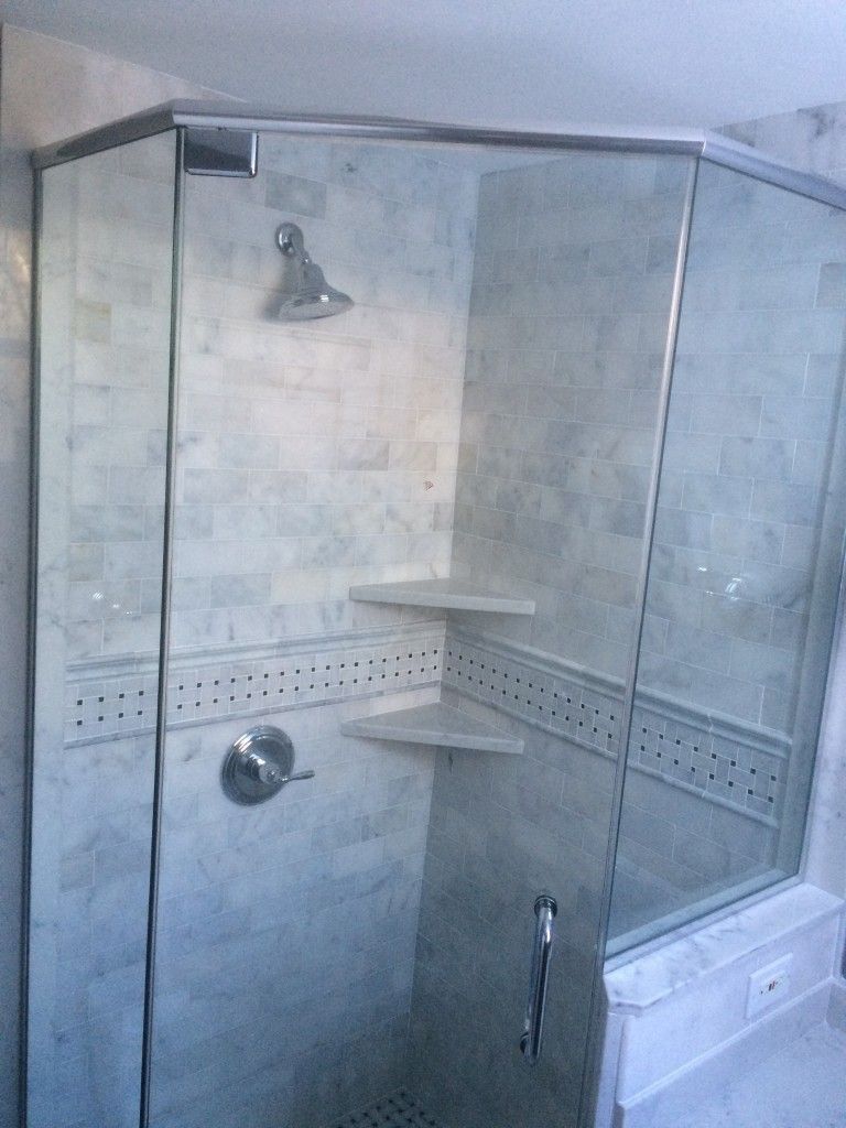 Contact GlassWorks, supplying chicagoland neo-angle glass shower ...