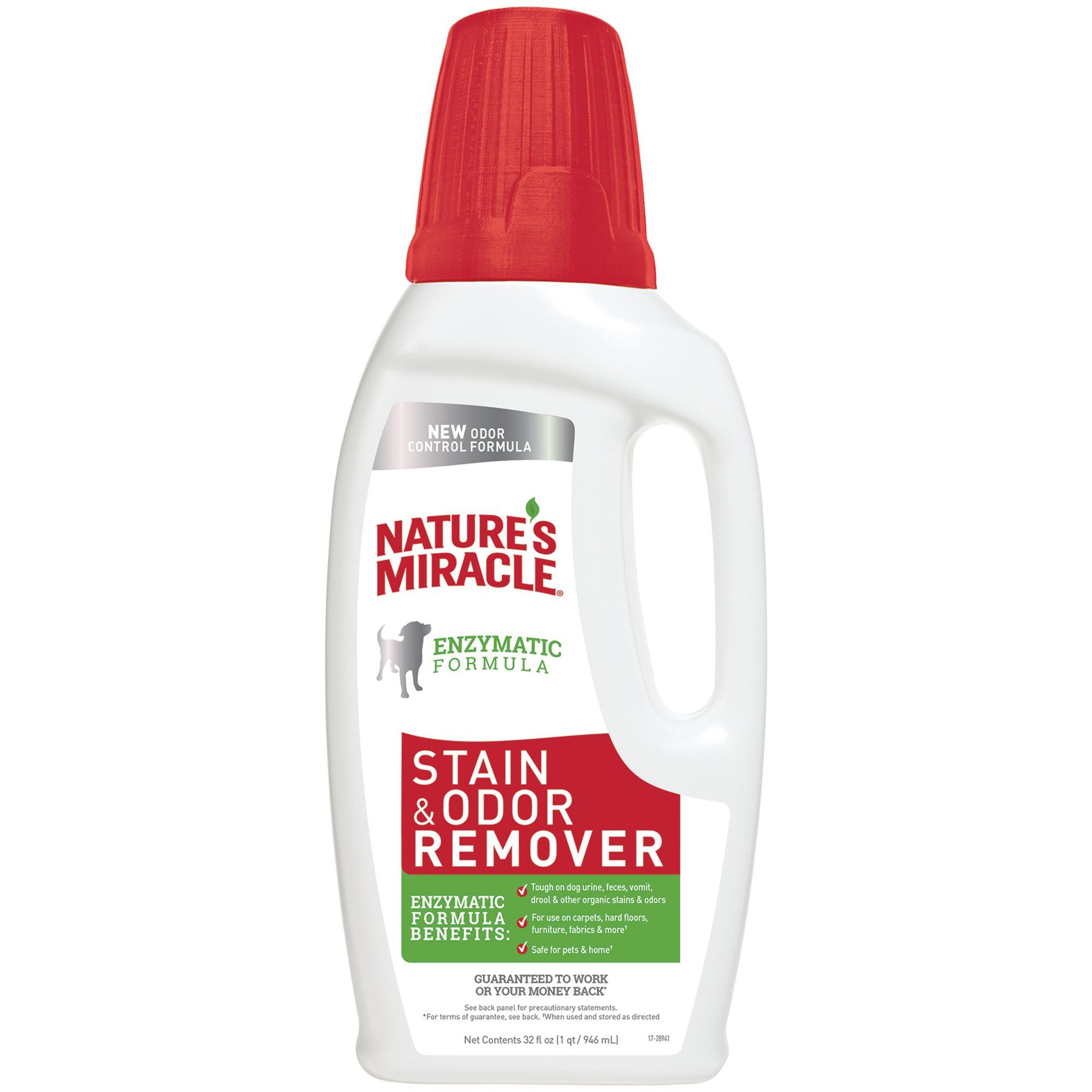 "Nature""s Miracle New Formula Stain & Odor Remover, 32 fl"