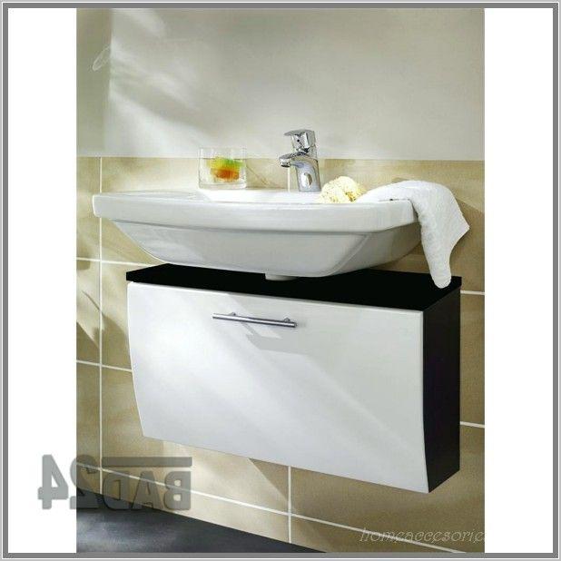Anthrazit Bad Mit Mosaik Waschbecken Unterschrank Sanita Hochglanz - badezimmer weis