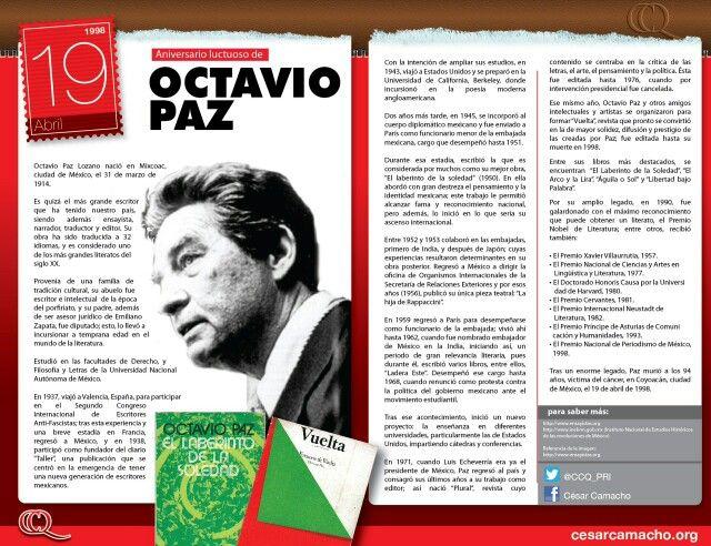 Octavio Paz Libros En Espanol Literatura Espanola Literatura
