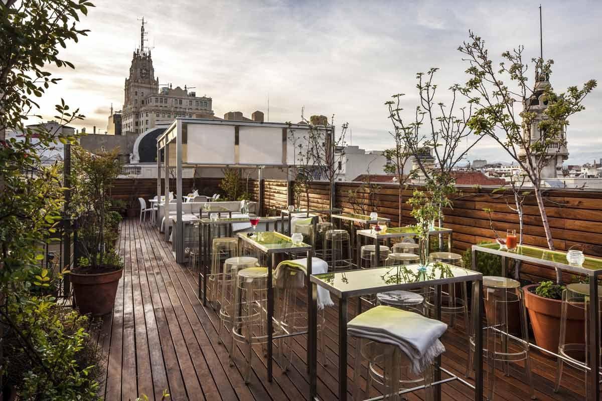 ático De Las Letras Madrid Places Spaces Cenar En