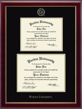 Purdue University Diploma Frame Diploma Frame Graduation Frame