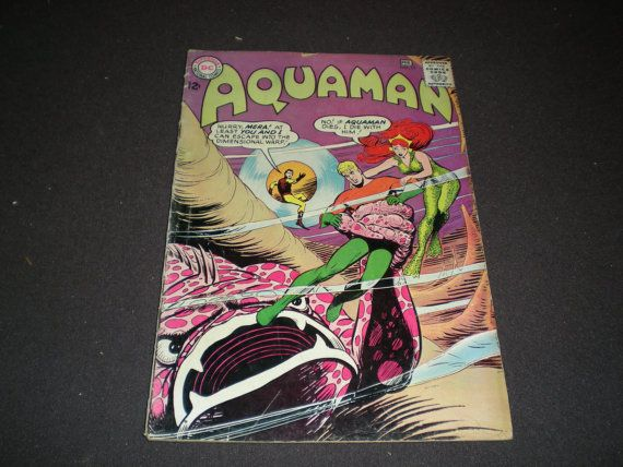 DC Aquaman 19 DC Comics 1965 by HeroesRealm on Etsy, $8.99 Just listed for Sale @https://www.etsy.com/shop/HeroesRealm