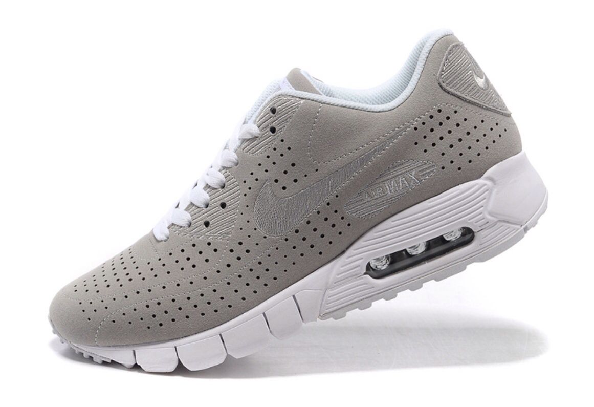 Cheap - To Buy Nike Air Max 90 Current Moire Men ShoesOn Grey White