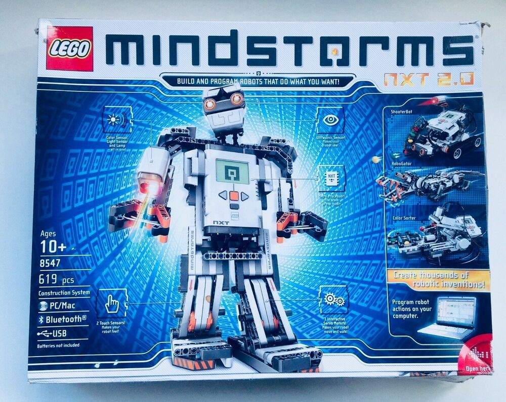 LEGO MINDSTORMS NXT 2 0 8547 Programmable Robot Set w/ Smart